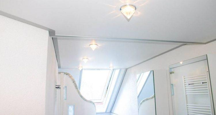 Een spanplafond in de badkamer, wat zijn de mogelijkheden? - Sense ...
