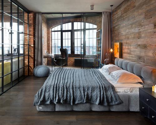 industriele slaapkamer ideeen