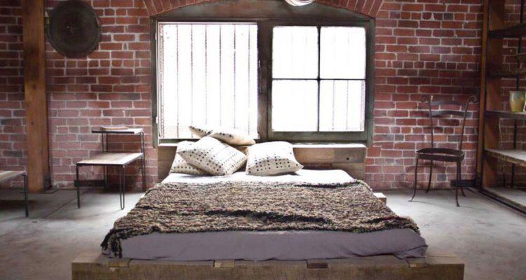 Paarse Slaapkamer Inrichten : Industriële slaapkamer sense of the city