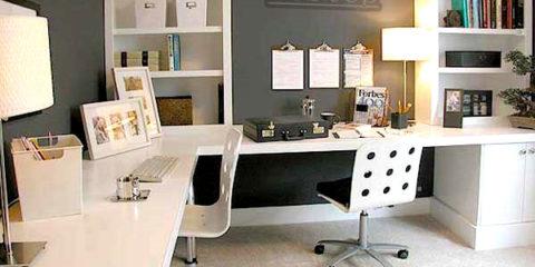 kantoor aan huis inrichten
