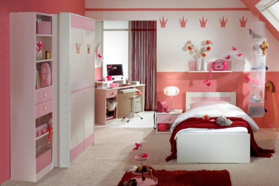 Meisjeskamer inrichten sense of the city - Decoratie roze kamer ...