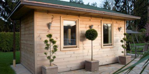 modern tuinhuisje