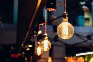 simplistische lamp