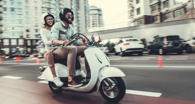 stel op scooter