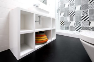 verschillende soorten badkamervloeren