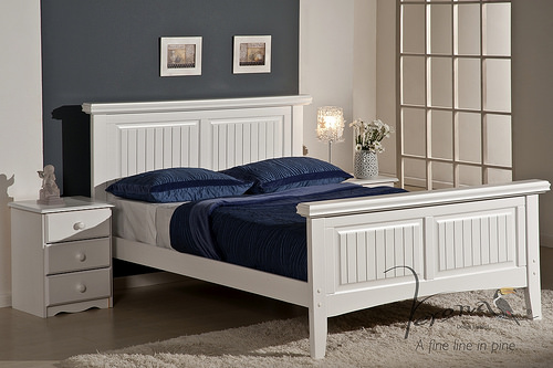 whitewash bed
